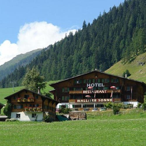 Hotel Walliser Sonne In Reckingen Online Buchen Wallis Schweiz