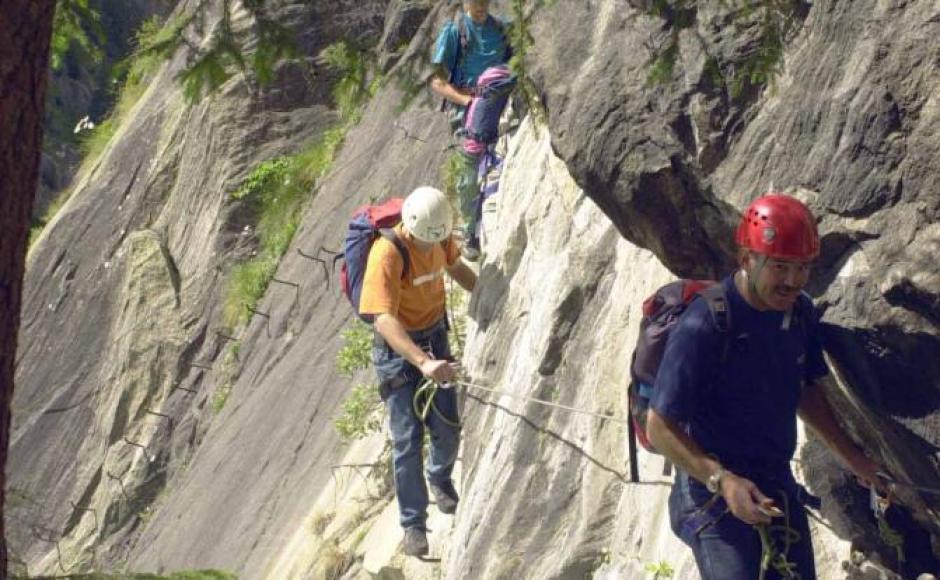 Klettersteig Wallis : Klettersteig aletsch klettersteige & via ferratas in blatten belalp