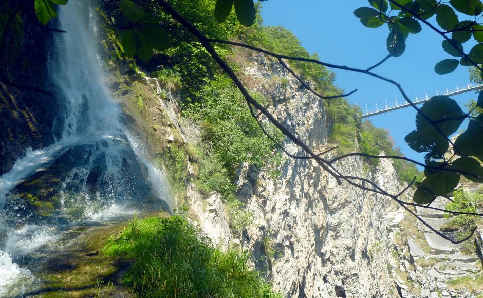 Klettersteig Wallis : Via farinetta klettersteige & ferratas in saillon wallis schweiz