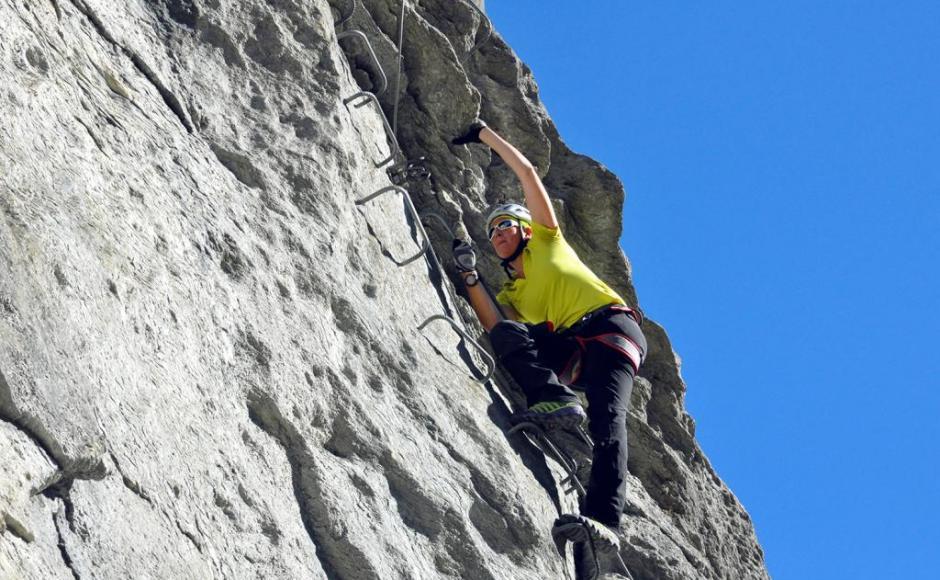 Klettersteig In English : Klettersteig evolène klettersteige & via ferratas in