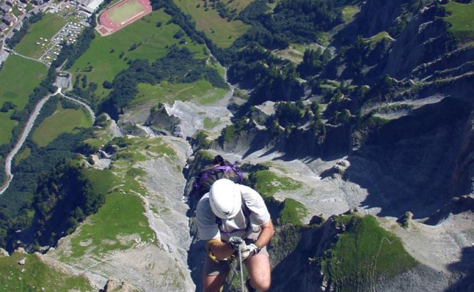 Klettersteig Daubenhorn : Kleiner daubenhorn klettersteig klettersteige & via ferratas in