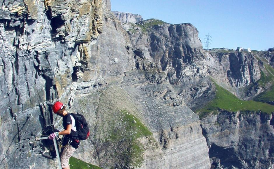 Klettersteig Wallis : Kleiner daubenhorn klettersteig klettersteige & via ferratas in