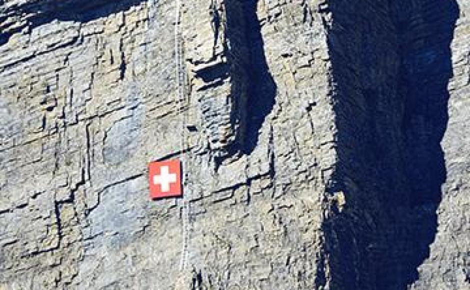Klettersteig Daubenhorn : Grosser daubenhorn klettersteig klettersteige & via ferratas in