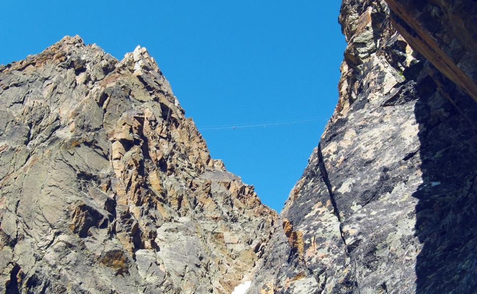 Klettersteig Jegihorn : Klettersteig jägihorn klettersteige & via ferratas in saas grund
