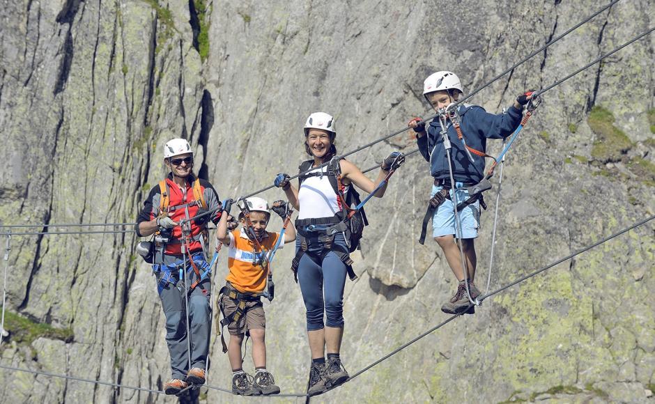 Klettersteig Wallis : Klettersteig eggishorn klettersteige & via ferratas im goms wallis
