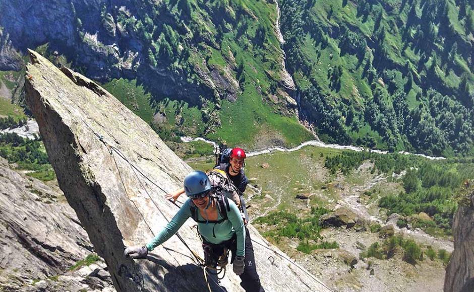 Klettersteig Bilder : Baltschieder klettersteig zur wiwannihütte klettersteige & via