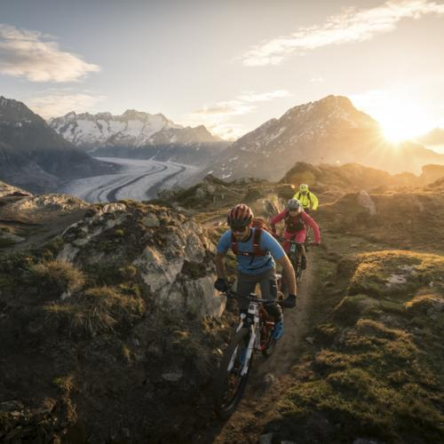 Aletsch Arena - Mountain bike experience