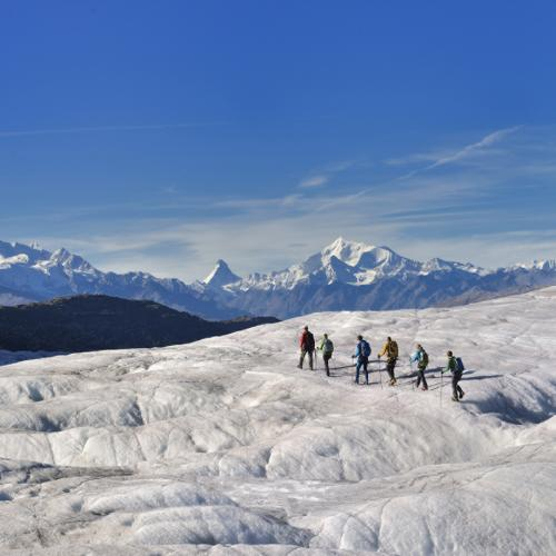 Weekend – Le grand Glacier d'Aletsch