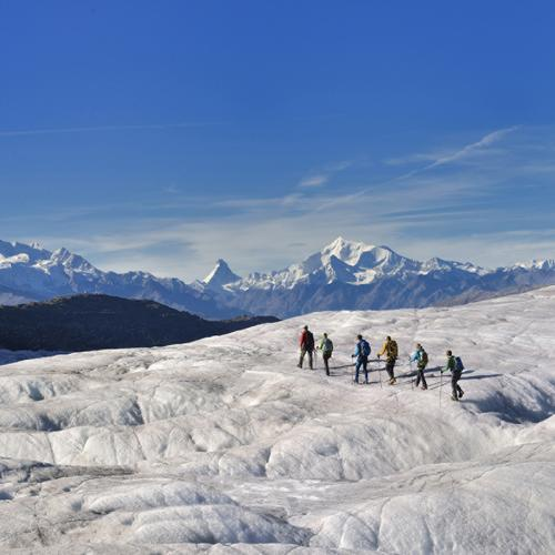 "Aletsch Arena – Forfait ""Walking on Ice"""